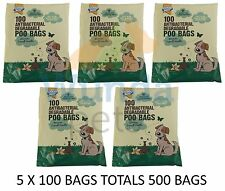 GOODBOY DOG ANTIBACTERIAL DEGRADEABLE POO MESS WASTE PICK UP BAGS 500 PACK 07904