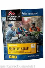 1 - Breakfast Skillet - Mountain House Wrap -  Freeze Dried Food Pouch