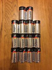 New Energizer Batteries - 14 D, Expires 2026