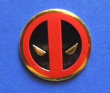DEADPOOL Golden Classic Icon STICKER - 3cm Licensed Decal New Marvel S-MVL-31-M