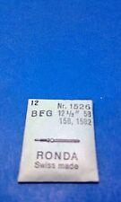 12 X NEW  watch Winding Stem RONDA BFG 58, 158, 1582 RONDA N 1526 SWISS MADE