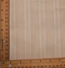 """Vintage WHITE stripe SHEER Voile type cotton crisp  FABRIC 44""""W By The 1/2 Yard"""