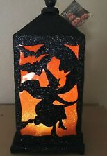 Bethany Lowe Halloween Flying Witch Lantern—retired