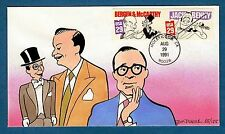 Colorano Hand Painted 2563-4 Jack Benny Bergen & McCarthy Hollywood Combo Cover