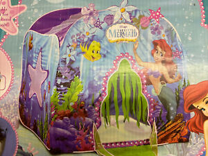 Rare  Littke Mermaid Under The Sea Magic Caste Playhut Playhouse NIB