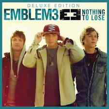 Emblem3 - Nothing To Lose CD Deluxe Ed. con 4 bonus tracks (nuovo/sigillato)