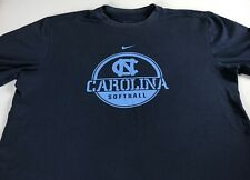 North Carolina Tar Heels Softball Shirt Womens Medium UNC Nike Student Alumni