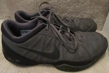 Nike Air Ring Leader Low Basketball Shoes 488102-002 Size 11.5 Gray Sneakers EUC