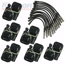 New Plug Wire Sets With Ignition Spark Coils For Mercedes-Benz CL C CLK ML Class