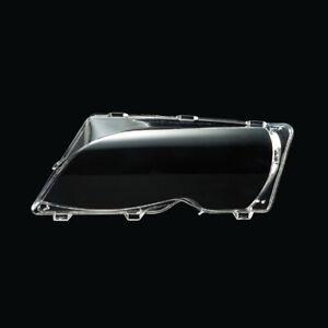 Left Headlight Lens Cover DIY EDRJMF For BMW E46 LCI 4 Door 2001 02-2005 2006