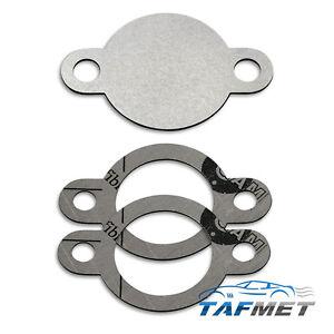 27. EGR valve blanking plate gaskets for Nissan Navara Frontier 2.5 D40 D22 YD25