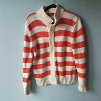 Crable for her Womens Size Large 12/14 Boise Idaho Striped Knit Sweater (AA)
