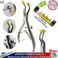 Removedor De Corona MEDENTRA ® Dentales Fórceps Pinzas de repuesto almohadillas de silicona suave X10