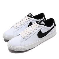 Nike SB Blazer Zoom Low CNVS Summit White Black Men Skate Boarding 889053-101