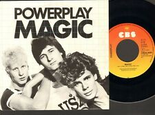 "POWERPLAY MAGIC 7"" SINGLE Jungle Fever JAN van der MEY 1983"
