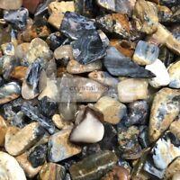 1lb Bulk RARE NATURAL Pietersite quartz crystal 15-45mm Tumbled Stone Healing