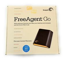 Seagate FreeAgent Go 80GB Portable Hard Drive W/ USB Cable OPEN BOX It/552