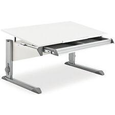 Moll Schreibtisch / Kinderschreibtisch Bandit weiß inkl. Riesenschublade