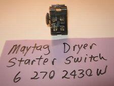 Washer dryer parts accessories ebay interruptor acionador secadora maytag 6 2702430w 90 dias de garantia frete grtis fandeluxe Images