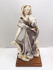 Pergianni Cedraschi Capodimonte Florence Figurine Lady Winter, 1985