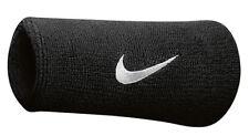 Nike Swoosh Doubelwide Schweißband schwarz Doppelpack