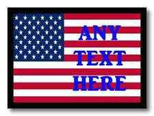Usa American Personalised Dinner Table Placemat