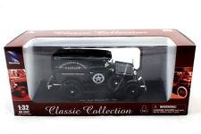 NEW RAY 1931  FORD PANEL U.S MARSHALL BLACK 1/32 NEW DIECAST CAR SS-55123A