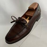 Etienne Aigner York Loafers Apron Toe Womens Brown Leather Lace Shoes Size 10M
