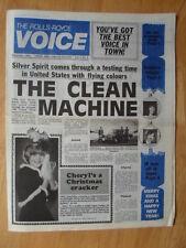 THE ROLLS ROYCE VOICE DECEMBER 1980 UK Mkt Internal Newspaper brochure