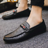 Men's Driving Moccasins Casual Boat Shoes Leather Shoes Light Slip On Loafers