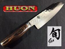 """SHUN Premier 7""""/ 17.8cm Santoku Knife - Gift Box TDM0702 - MADE IN JAPAN"""