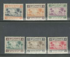 Sudan 1941 SG 81-86 Tuti Island Part Set VF UMM MNH