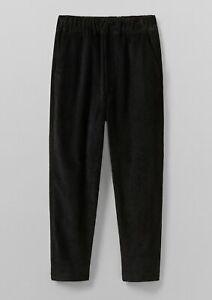 Toast UK Gabi corduroy pull on trousers pants brown slate current season size 6