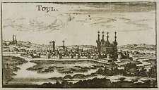 TOUL - GESAMANSICHT - Christoph Riegel - Kupferstich 1690