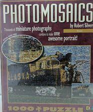 PHOTOMOSAICS by Robert Silvers TRAIN 1000 Piece Jigsaw Puzzle (NEW !)