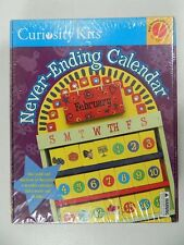 Curiosity Kits Never Ending Calendar Kids 4 and Up Arts Crafts Learning Toy