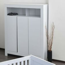 Kleiderschrank Babyzimmer Kinderzimmer Schrank weiß Kleiderschrank Felix 3-türig
