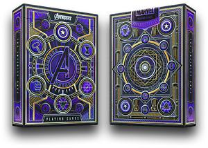 Avengers Infinity Saga Marvel Studios Theory11 Premium Playing Cards Poker Magic