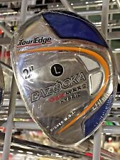 Tour Edge Bazooka GEOMAX2 Hybrid 2 Left hand L flex ladies graphite New