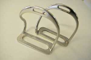 """Stirrups Safety stainless steel 4 3/4"""" with or without treads"""