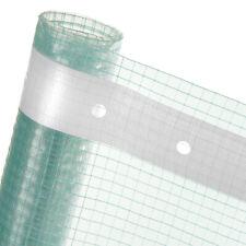 Gitterfolie Gewächshausfolie transparent Gitterfolie mit Nagelrand HaGa®