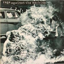 RAGE AGAINST THE MACHINE SELF TITLED LP EPIC 1992 1ST PRESS NEAR MINT + INSERT
