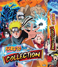 DVD NARUTO The Movie Series Collection 1~11 ENGLISH DUBBED ANIME + FREE DVD