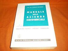 manuale delle aziende commerciali  guida legale fiscale formulari pirola 1967
