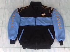NEU ZÜNDAPP Oldtimer Fan-Jacke schwarz/hellblau veste jacket jas giacca jakka