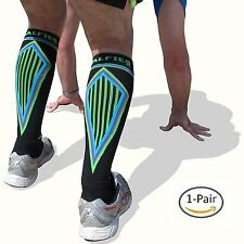 Calf Compression Sleeves Pair Women Men Sports Workout Calf sleeves Guard Large