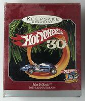 1998 Hallmark Keepsake Ornament Hot Wheels 30th Anniversary Ornament