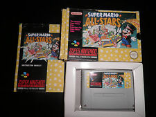 Super Nintendo, Snes - mario all stars - 100% boxed