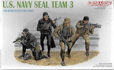 Dragon US Navy Seal Team 3 Figures in 1/35 3025 ST