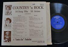 RARE V/A LP COUNTRY ROCKABILLY LP Junie Lou Billy Jones Bonnie Baldwin